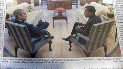 Bush und Barack